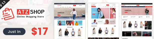 shop html Template